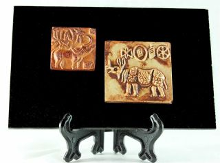 Classic Indus Valley Seals Mohenjo - Daro 2500 Bc Islamabad Museum Ancient Replica photo