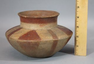 Ancient Authentic Mississippi Native American Pre Columbian Indian Pottery Pot photo