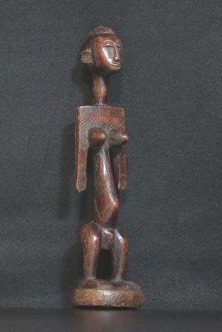 African Tribal Art: Bambara/baman Figure From Mali,  Tt0288 photo