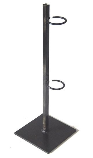 Metal Ring Display Stand For African And Other Type Of Art 21