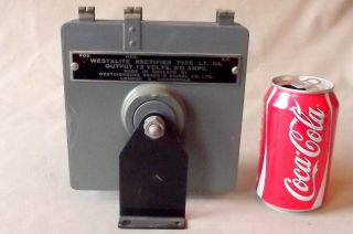 B Westalite Rectifier Type Lt54,  (12v 5a) Vintage {physics} By Westinghouse photo