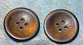 "Good Year Rubber Buttons Coat 1 1/4"" Antique Pat 1851 photo"