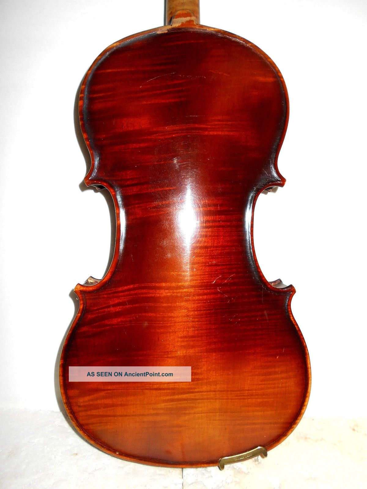 Antique Old Vintage 1 Pc Back Full Size Violin - String photo