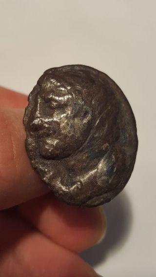 Ancient Silver Roman Ring photo