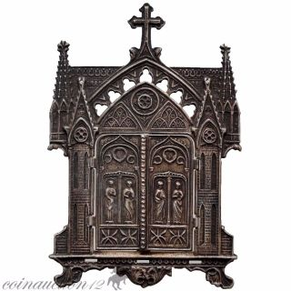 Religious Christian Ae Icon Applique Decoration Circa 1600 Ad photo