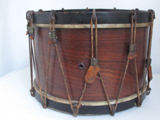 Antique Marching Snare Drum photo