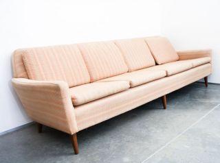 Danish Modern Sofa Folke Ohlsson For Dux Teak Mid Century Couch Swedish Vintage photo