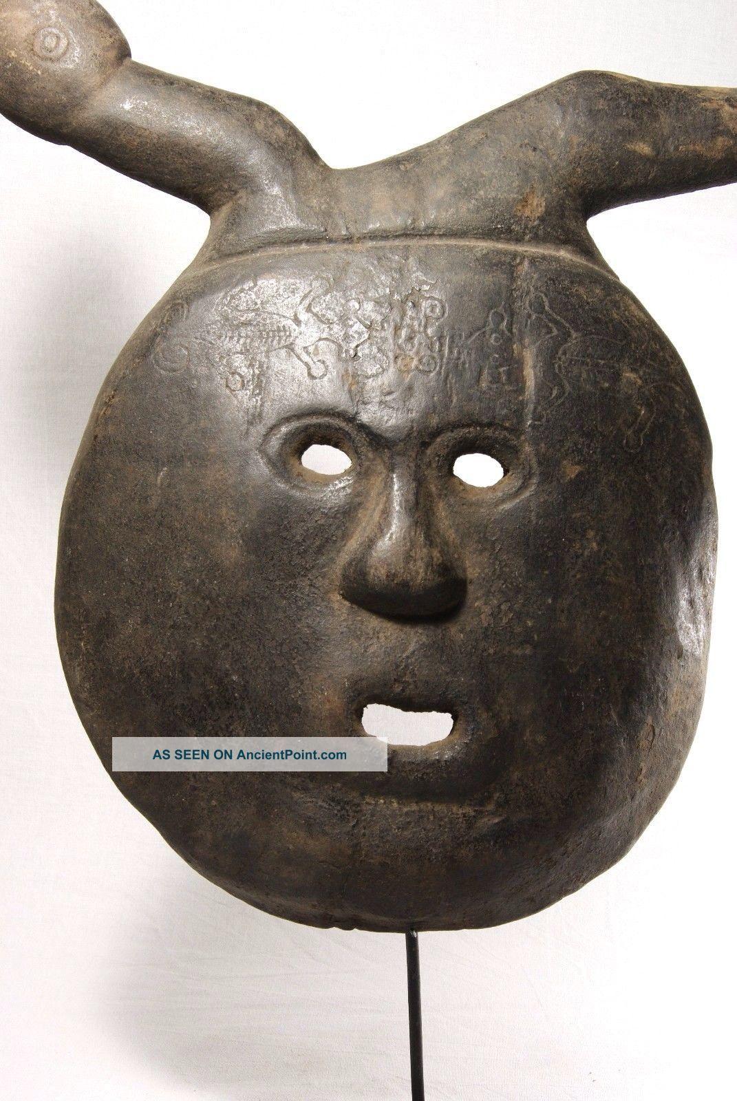Wood Mask - West Timor - Tribal Artifact Pacific Islands & Oceania photo