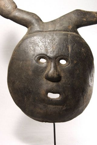 Wood Mask - West Timor - Tribal Artifact photo