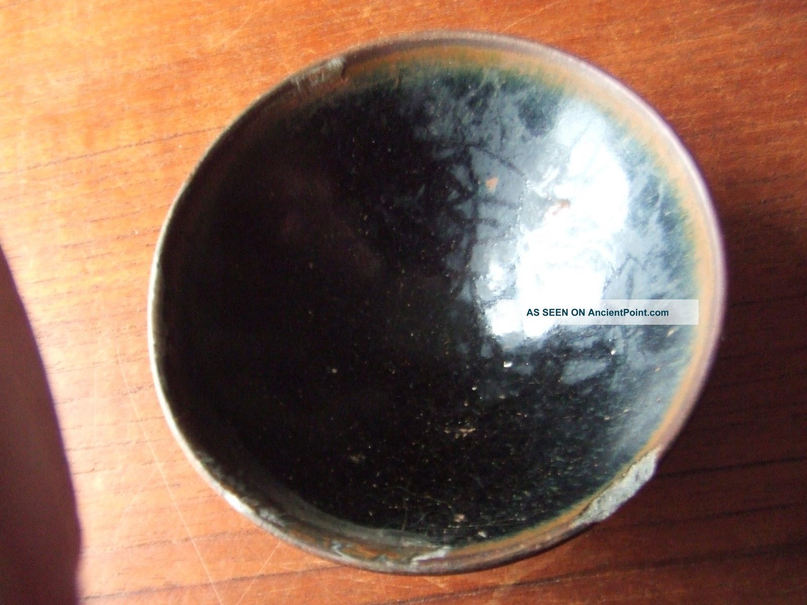 China.  Sung Dynasty.  12th/13th C.  A Black Glazed Pottery Tea Bowl, Chinese photo