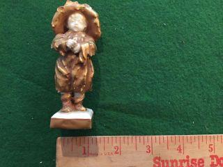 Antique Capodimonte Porcelain Child Figure - Italy photo