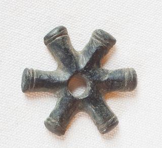 P41: Ancient Celtic Bronze Proto Money Piece photo
