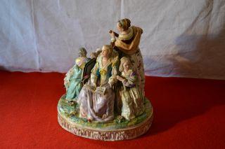 Meissen Figurine Sculpture (wizard) 18 - 19th Century photo