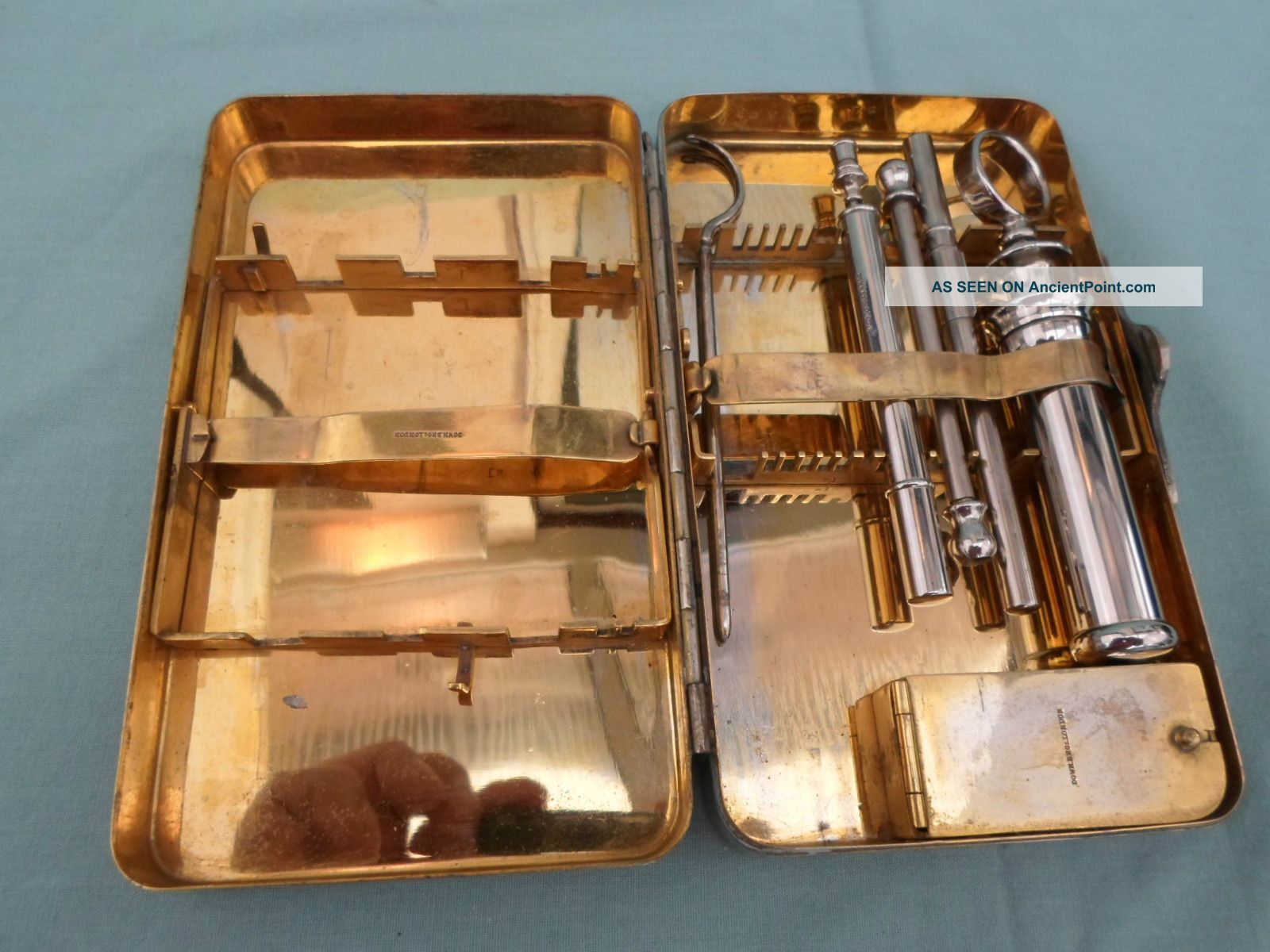Vintage Down Brothers Medical Kit Other Medical Antiques photo