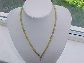 String Roman Glass Beads Circa 100 - 400 A.  D. photo