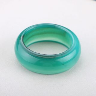 Exquisite Natural Jade Handwork Ring P0650 photo