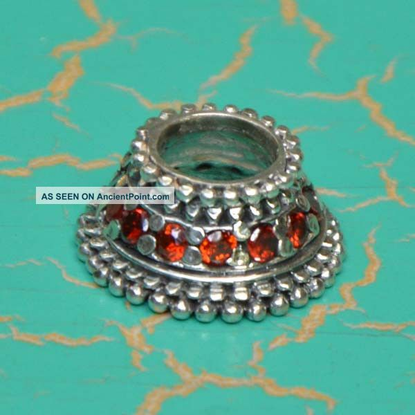 Balinese Silver Sterling Mendak Keris Ring Handmade Folkart Ps55 Pacific Islands & Oceania photo
