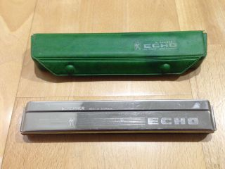 Hohner C Echo 2509/48 Holes Diatonic/tremolo Harmonica 2409/40 List89 $19.  5 photo