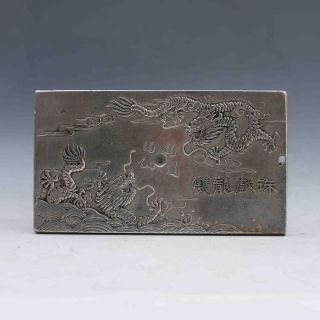 Tibet Silver Handwork Carved