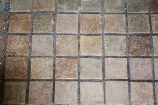 Nine 9 Vintage Arts And Crafts Batchelder Field Tiles 3 - 3/4