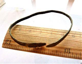 Ancient Bronze Bracelet.  (k495). photo