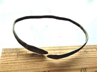 Ancient Bronze Bracelet.  (k416). photo