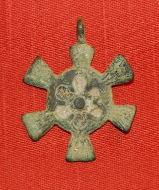 Medieval Heraldic Horse Pendant - Circa 1350 Ad photo