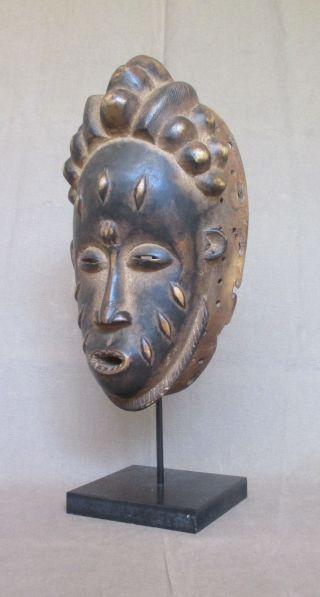 Antique Baule Baoule Mask - Ivory Coast photo
