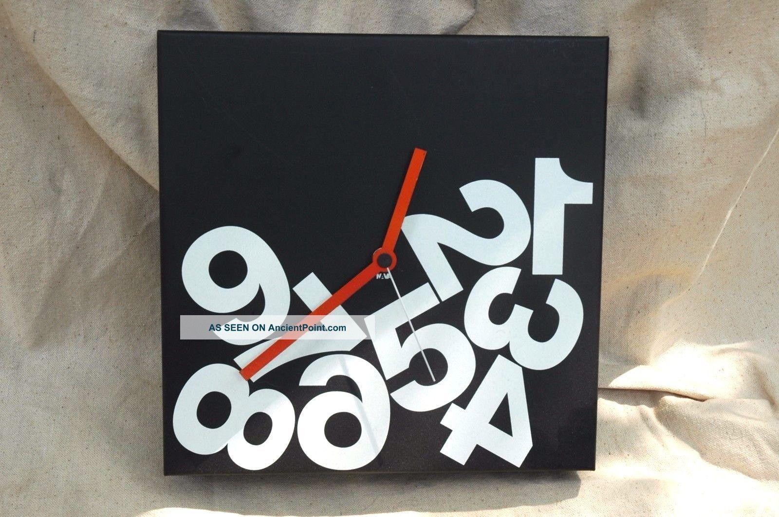 Moma Store Nava Milano Design Times Square Cube Wall Clock By Dario Serio Modern Mid-Century Modernism photo