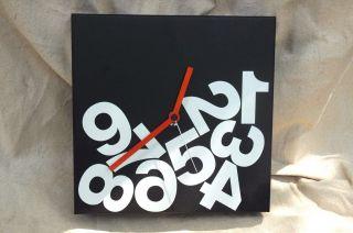 Moma Store Nava Milano Design Times Square Cube Wall Clock By Dario Serio Modern photo