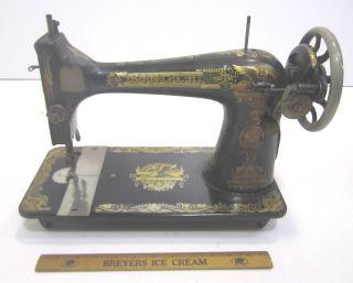 Vtg Singer Model 127 Sphinx Treadle Table 1923 Sewing Machine Ser.  G4560246 (cd) photo