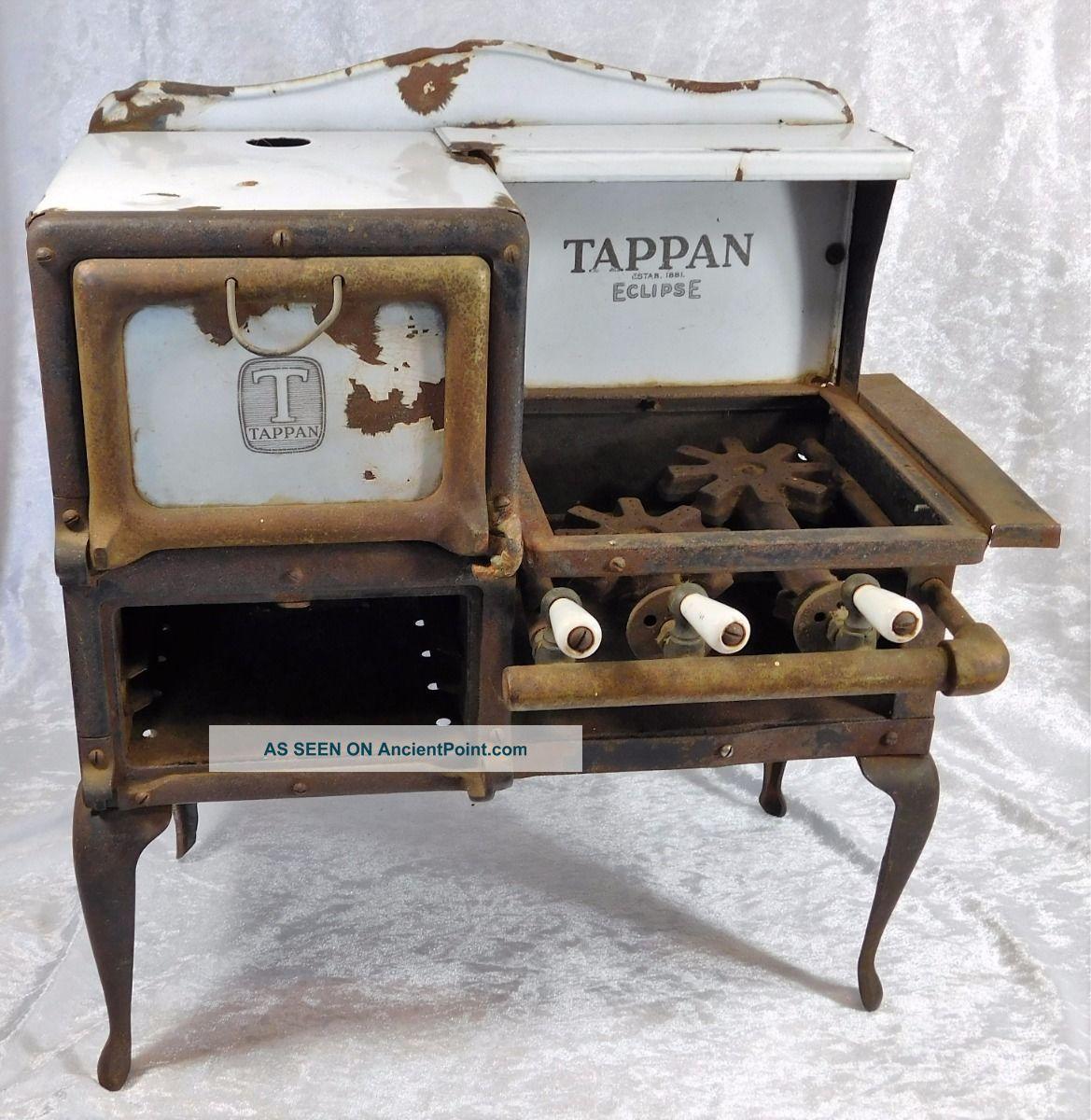 Atq Tappan 1881 Eclipse Stove Oven Salesman Sample Promo Model Minature Stoves photo