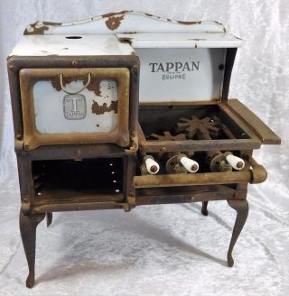 Atq Tappan 1881 Eclipse Stove Oven Salesman Sample Promo Model Minature photo