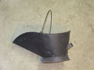 Antique Coal/ash Scuttle Bucket Vintage photo