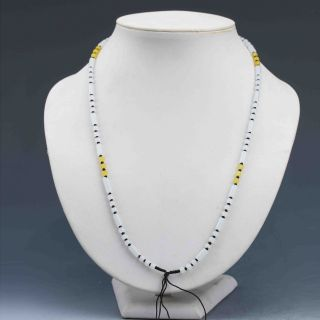 Chinese Natural Handcraft Jade Necklaces G897 photo