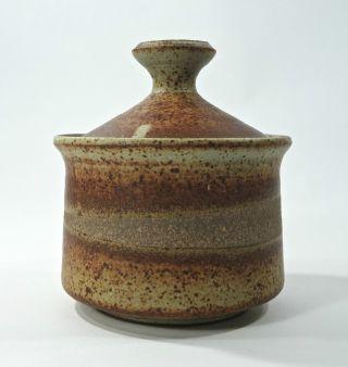 Mid Century James & Philip Secrest Studio Pottery Jar Student Of Daniel Rhodes photo