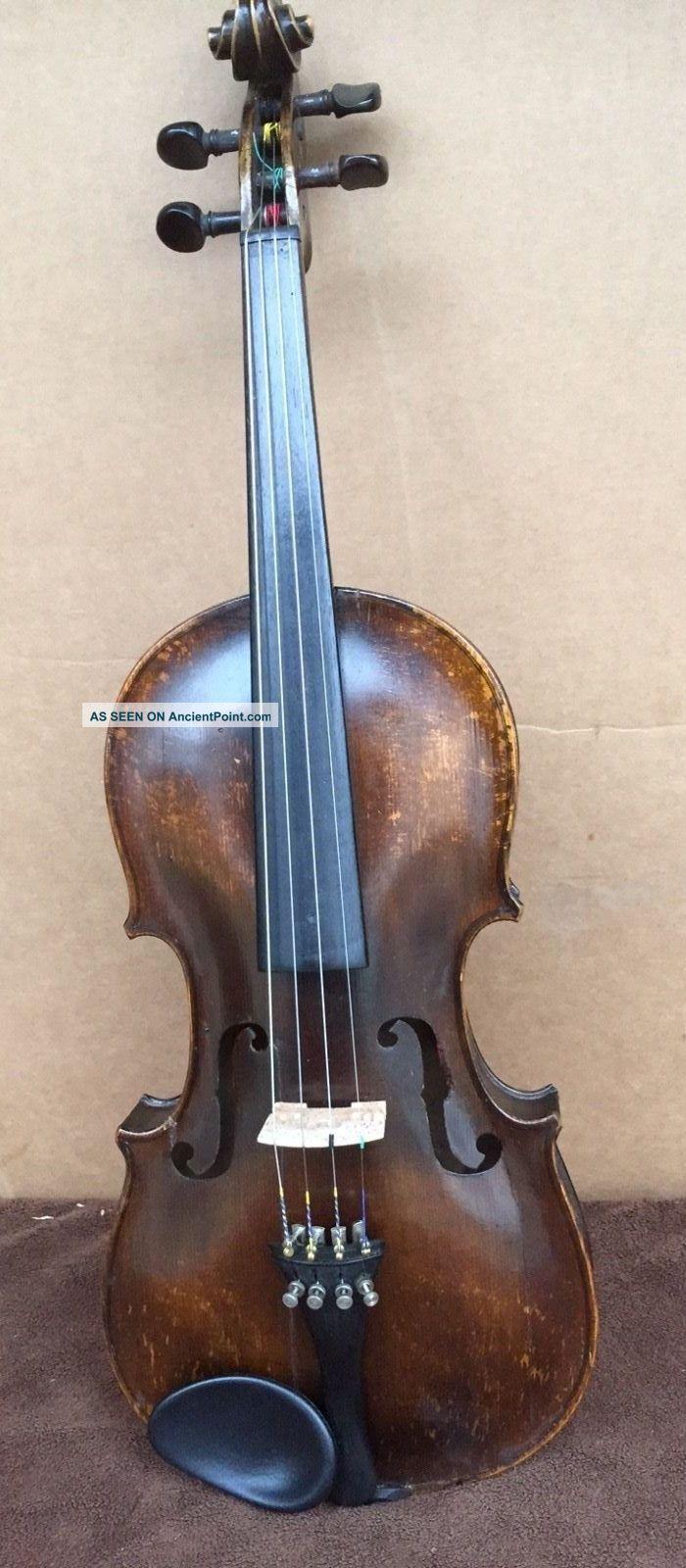 Vintage Violin 4/4 Samuel Gilkes,  London String photo