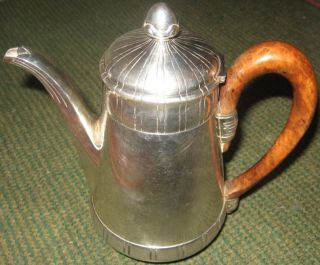 Coffee Pot,  950 Silver.  Paris,  France,  Adolphe Boulenger (1876 - 1899).  From 1$ photo