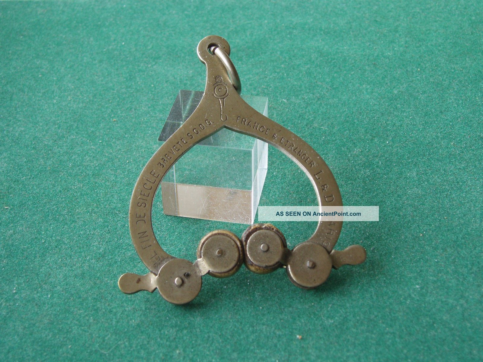Very Rare French Skirt Lifter - Art Deco Dancing / Skating Other Antique Sewing photo