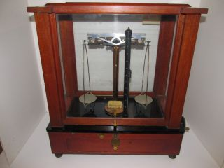 Antique Instrument,  Analytical And Diamond Balance Scale,  Christian Becker Inc. photo