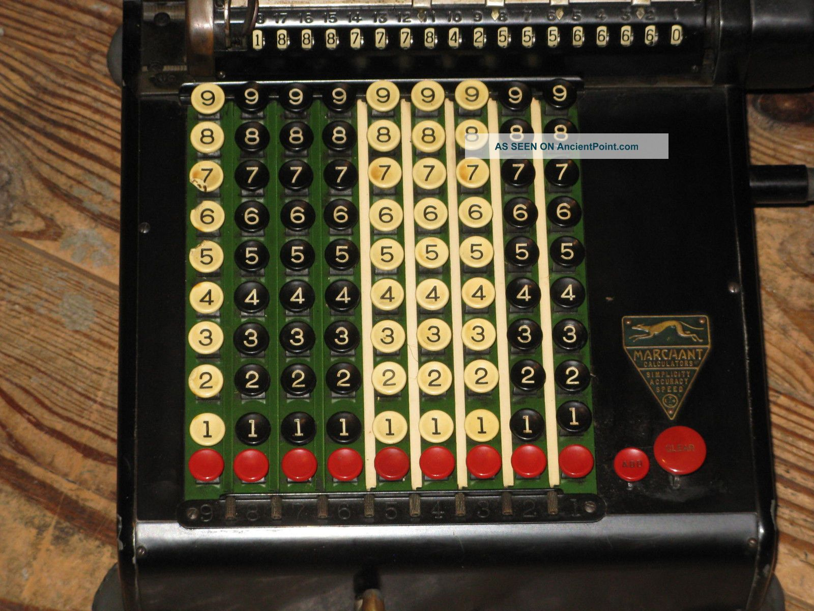 Antique Marchant Model Kc? Mechanical Calculating Machine Calculator Cash Register, Adding Machines photo