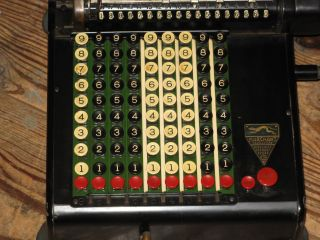 Antique Marchant Model Kc? Mechanical Calculating Machine Calculator photo