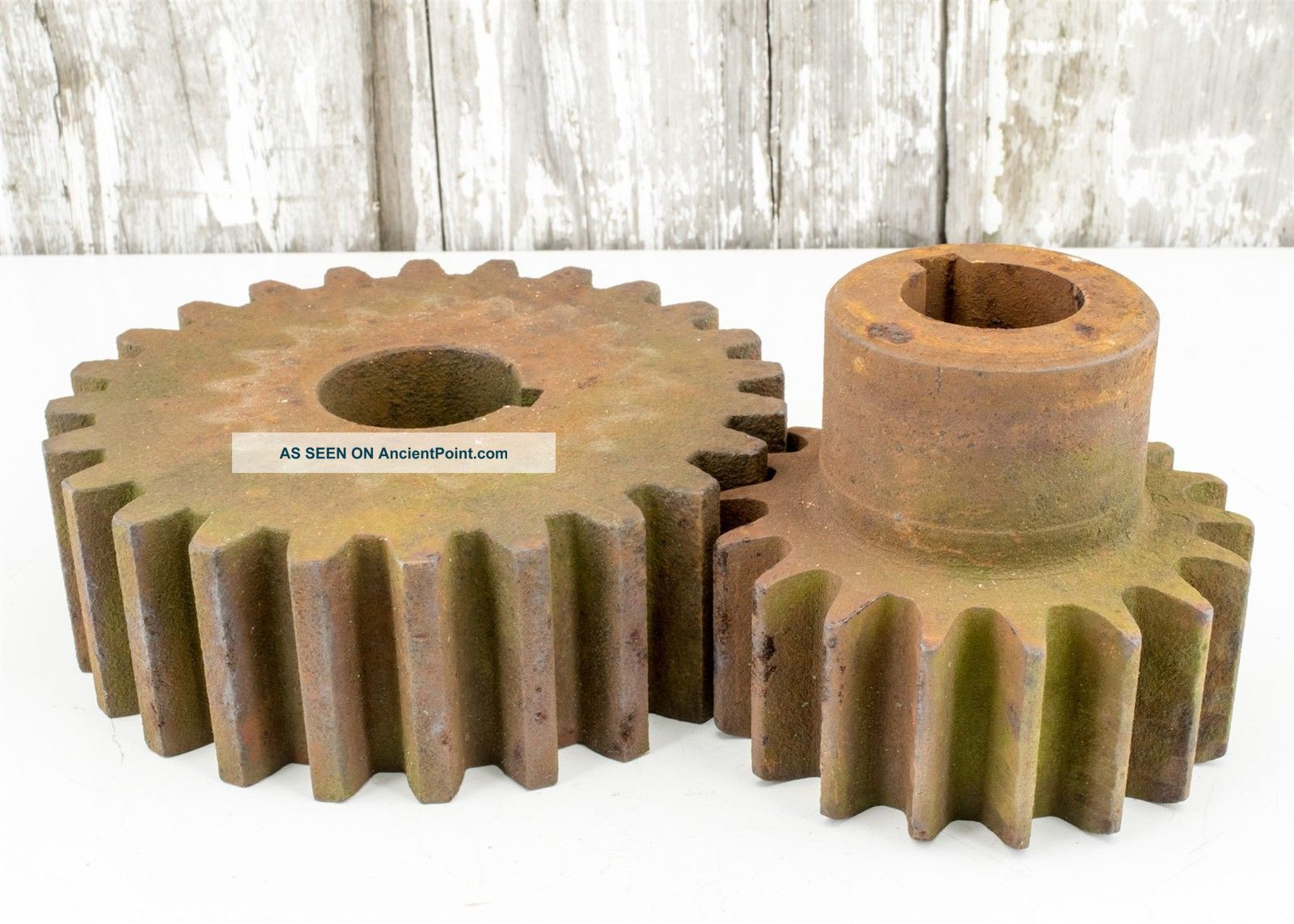 Heavy Steampunk Industrial Gears For Use,  Decor Other Mercantile Antiques photo