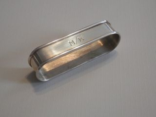 Je Caldwell Co Philadelphia Sterling Silver Napkin Ring Personalized :