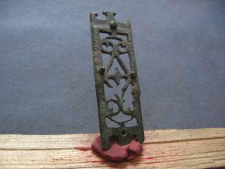 Large Ornament Ancient Celtic - Roman Bronze Belt Decoration 1 - 2 Ct.  Ad photo