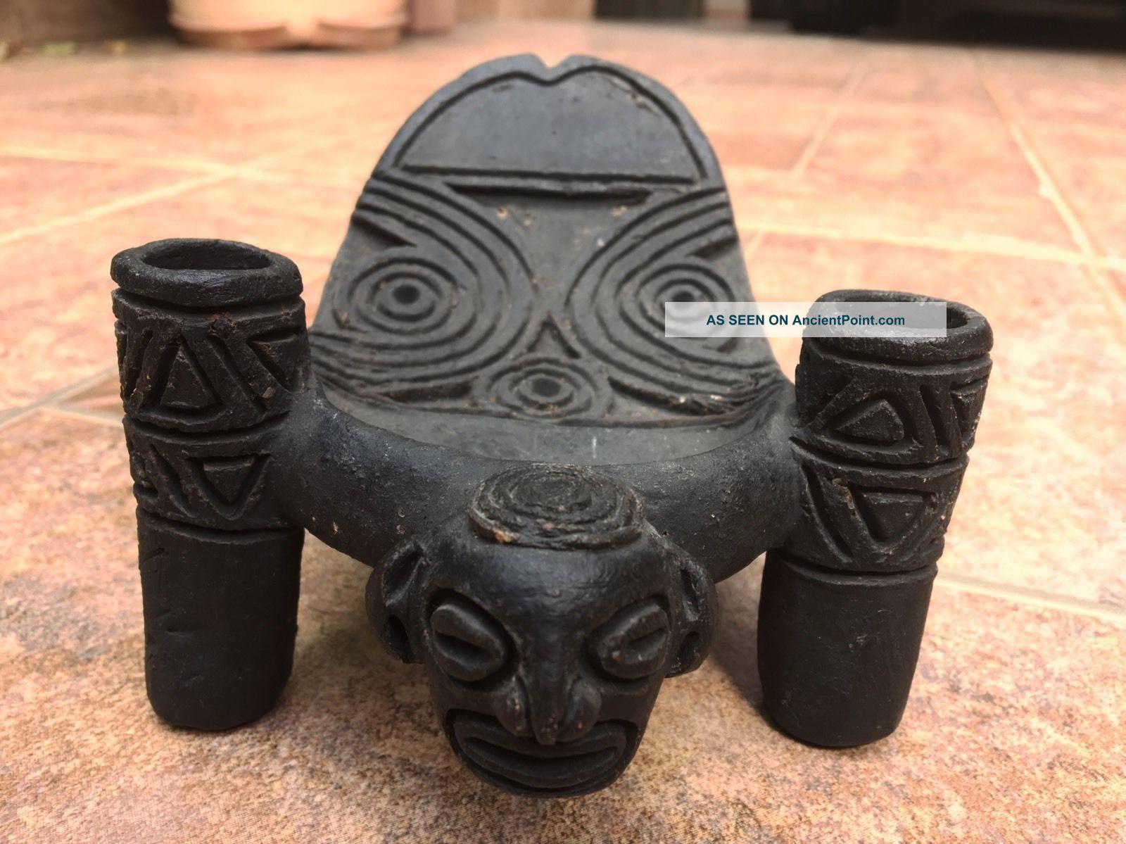 Taino Cemi Pre Columbian Cacique Seat Art The Americas photo