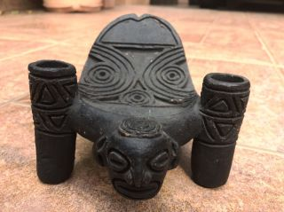 Taino Cemi Pre Columbian Cacique Seat Art photo