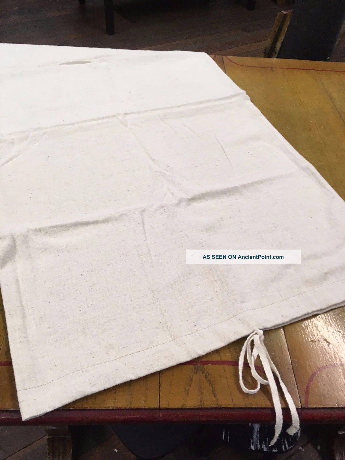 Family Heirloom Weavers Herringbone Weave Pillowcase Primitives photo