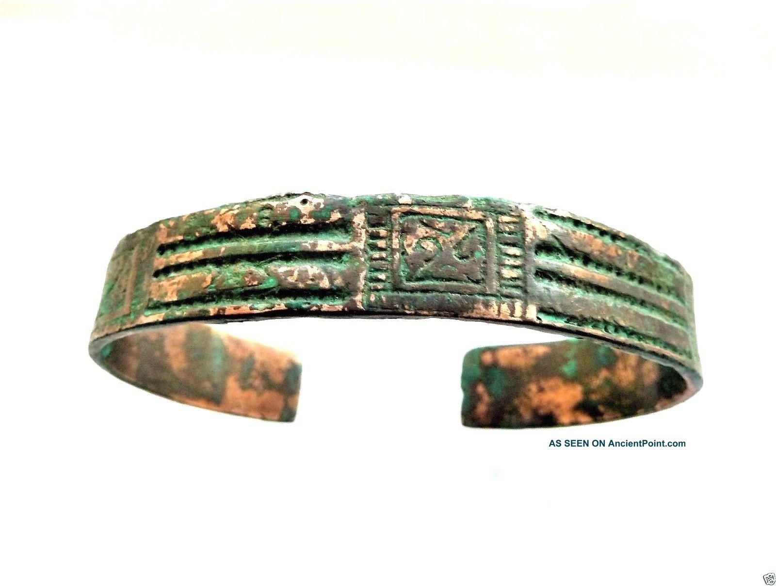 Ancient Viking Bronze Bracelet (k591). Viking photo