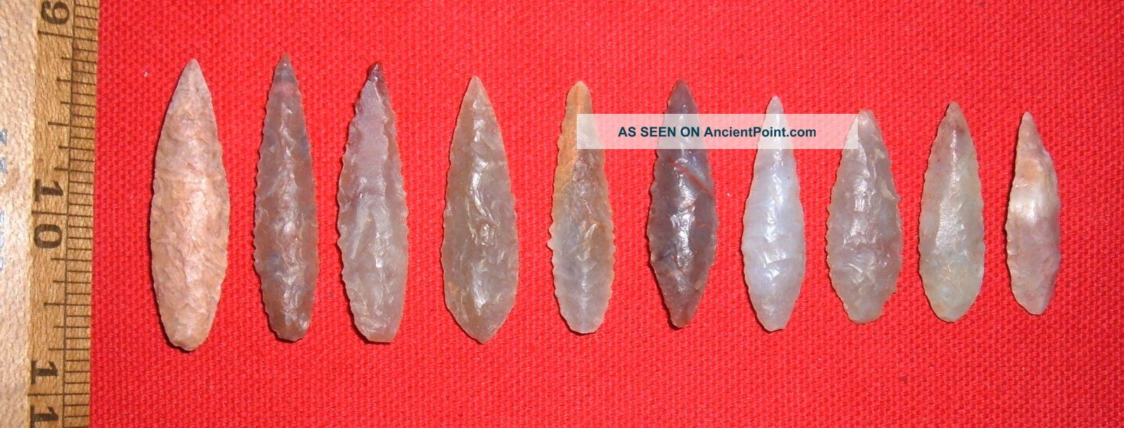 (10) Fine Sahara Neolithic Blades (1